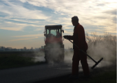 Groot asfaltonderhoud Schagen